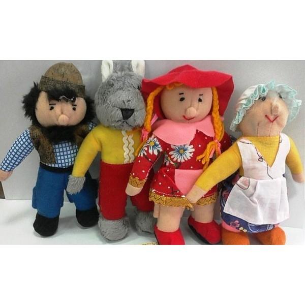 Кукольный театр топотушки Красная шапочка В032
