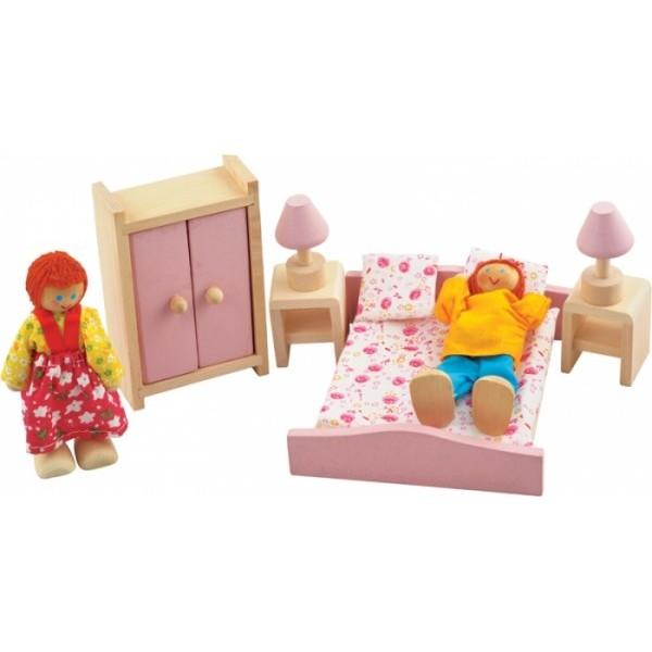 """фото Набор мебели для кукол """"Спальня"""" - Der 270"""