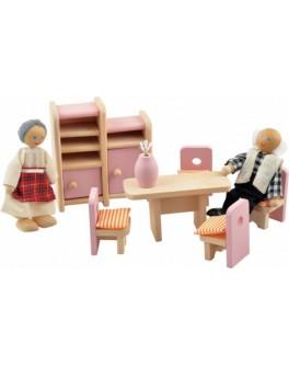 Набор мебели для кукол Столовая - Der 273