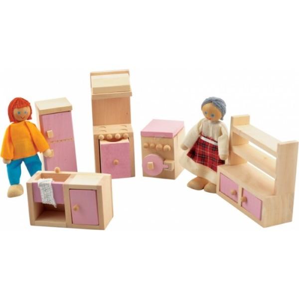 """фото Набор мебели для кукол """"Кухня"""" - Der 272"""