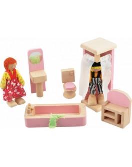 "Набор мебели для кукол ""Ванная комната"" - Der 274"