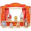 Настольная ширма для пальчикового театра с 16 куклами. Кукольный театр - der 170