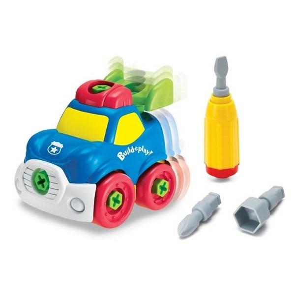 Полицейская машина. Конструктор Build Play Keenway (K11936) - SGR K11936
