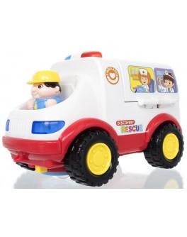 Игрушка Скорая помощь Huile Toys