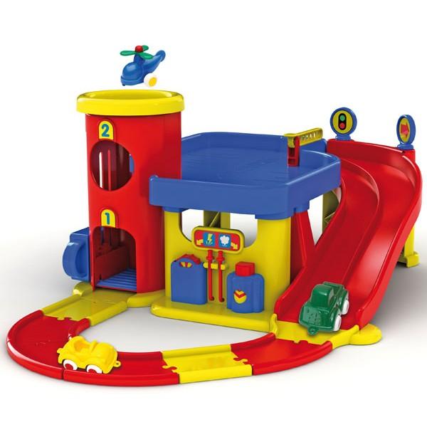 Гараж с дорогой  двухуровневый Viking Toys 5556 - KKlab 5556