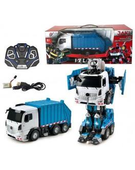 Іграшка Машина-трансформер на радіокеруванні Автобот-сміттєвоз (ТТ 676)