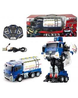 Іграшка Машина-трансформер на радіокеруванні Автобот-цистерна (JQ 6609)