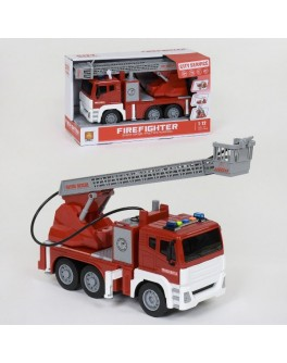 Іграшка Wenyi Машинка інерційна Пожежна машина з водяною помпою, бризкає водою (WY 851 А)