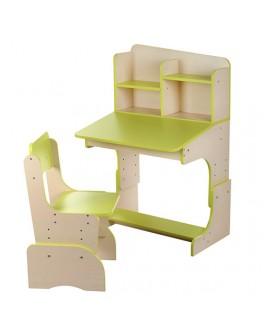 Парта детская регулируемая со стульчиком F 2071-5