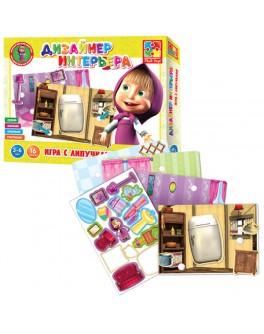Игра с липучками Дизайнер интерьера. Маша и Медведь Vladi Toys (VT2305-03)