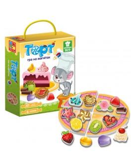 Дидактическая игра по математике  Vladi Toys Торт (VT3004-01) - VT3004-01