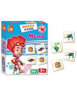 Настольная игра фиксики Мемо - VT2107-02|VT2107-06