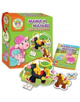 Игра с липучками Vladi Toys Мама и малыш (VT1310-02) - VT1310-02