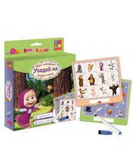 Игра с маркерами Vladi Toys Угадай-ка! Маша и медведь (VT2106-05) - VT2106-05