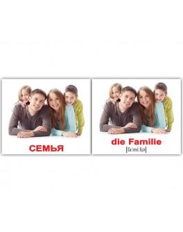 Карточки Домана мини Семья немецко-русские Вундеркинд с пеленок - WK 2100064094033