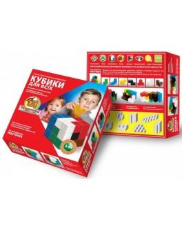 Дерев'яні кубики Нікітіна - Кубики для всіх Вундеркінд - wkind k-003