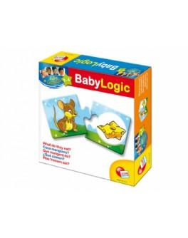 Игровой набор Логика - Кто что ест? Обучающие пазлы - Kklab 30422B