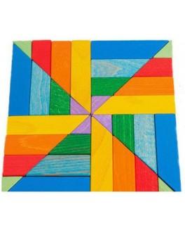 Мозаика деревянная Калейдоскоп, ТАТО