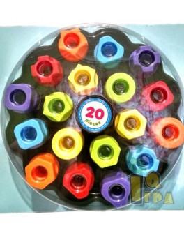 Детская мозаика Геометрия макси для детей от 1 года  - mpl M10A