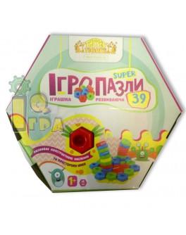 Мозаика для малышей Игропазлы Тигрес 39 деталей - mlt 39315