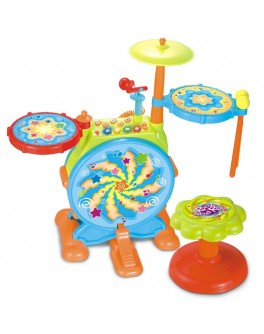 Барабанная установка детская Huile Toys 666