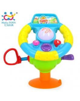 Музыкальная игрушка Забавный руль, Huile Toys