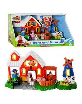 Большая музыкальная ферма, фигурки, звук, свет, HAP-P-KID - mpl 3882 T