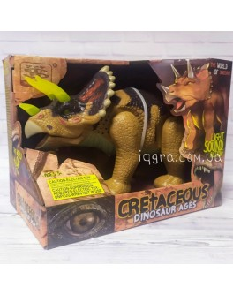 Музична іграшка Wen Sheng Динозавр Цератопс - ходить і ричить 35 см (WS 5301)