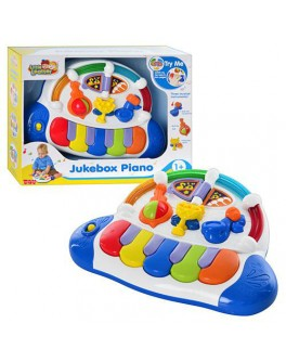 Пианино, звуки музыкальных инструментов, свет, HAP-P-KID - mpl 3857 T