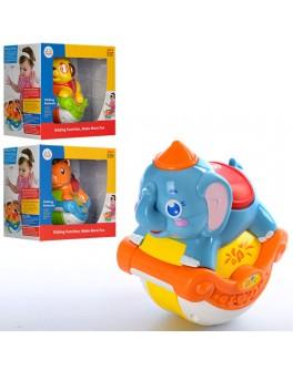Музыкальная игрушка Неваляшка, Huile Toys