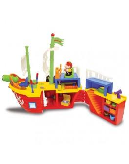 Пиратский корабль музыкальный Kiddieland preschool - KDS 038075