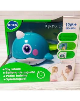 Музична водоплавна іграшка Hola Toys Кит (8101)