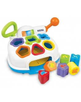 Музыкальная игрушка-сортер Weina До-Ре-Ми (2002)