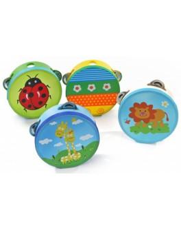Игрушки из дерева Бубен детский - der 212