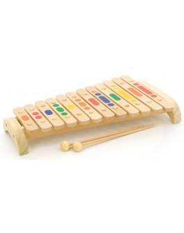 Игрушки из дерева Ксилофон на 12 тонов