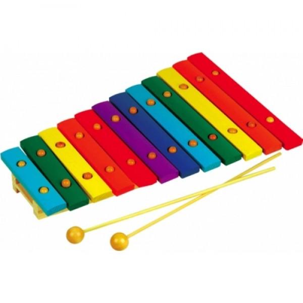 Ксилофон на 12 тонов, дерево. Музыкальный инструмент - Rud 046