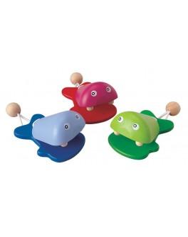 Музыкальная игрушка Рыбки - кастаньеты Plan Toys (6406)