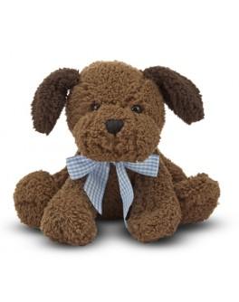 Шоколадный щенок, 23 см, звук - md 7401