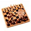 Шахматы, шашки, нарды, домино и крестики-нолики Настольные игры 5 в 1 - BVL 14006