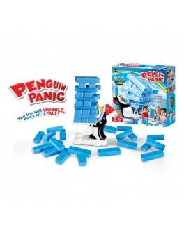 Настольная игра Дженга Пингвины 24 блока
