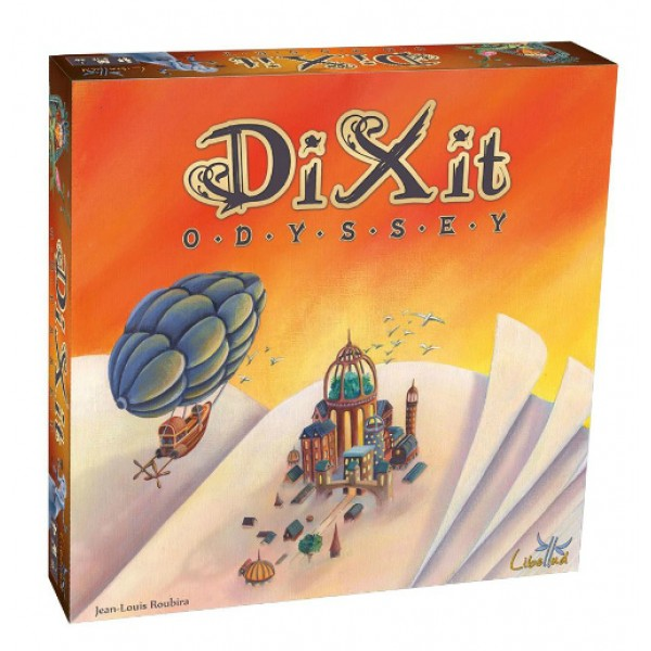Игра Диксит Одиссея, приключения