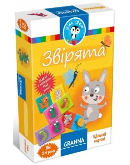 Настольная игра Granna Зверьки (82654) - BVL 82654