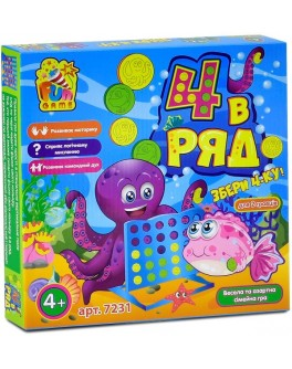 Настольная игра Fun Game 4 в ряд (7231) - igs 7231
