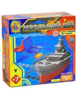 Настольная игра Fun Game Морський Бій (7232) - igs 64927