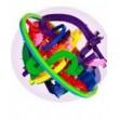 Головоломка шар-лабиринт 12 см - mpl  929A