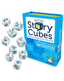 Настольная игра Кубики Историй Рори: Действия (Rorys Story Cubes: Actions) - dtg 2154