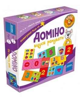 Настольная игра Домино Учусь считать. Granna (82500)