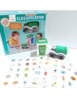 Гра настільна Охорона навколишнього середовища, роздільний збір сміття (7077-92)