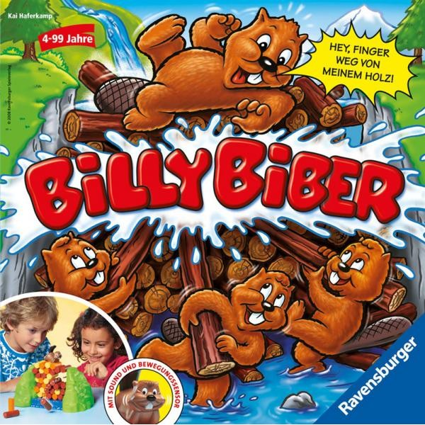 игра настольная Ravensburger Billy Biber 21103