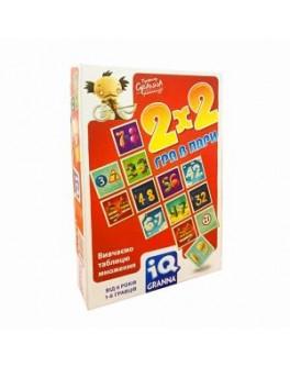 Карточная игра IQ 2х2 Игра в пары Granna - BVL 81497